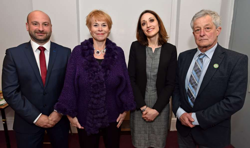 The four candidates battling to become Lincolnshire's next Police and Crime Commissioner on May 5.