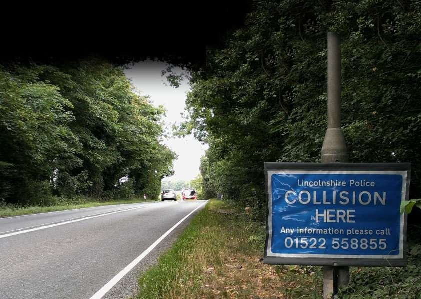 The scene of the fatal collison on Friday afternoon. EMN-150721-100233001 EMN-150721-100233001