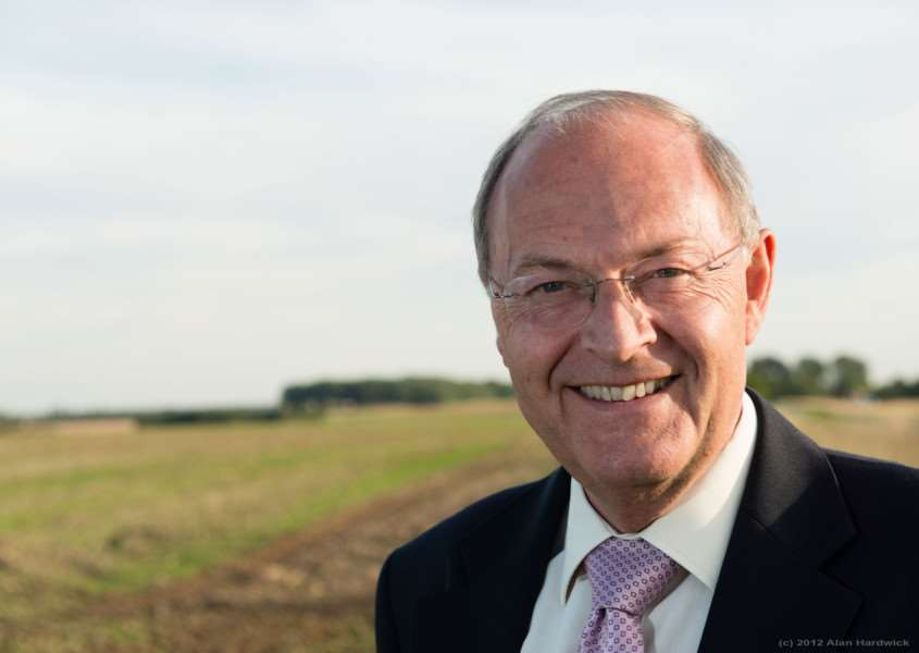 Lincolnshire Police and Crime Commissioner Alan Hardwick.