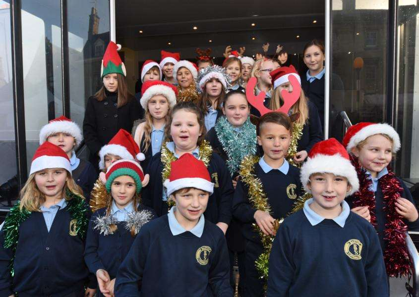 Baston Primary School pupils were among the performers on the day