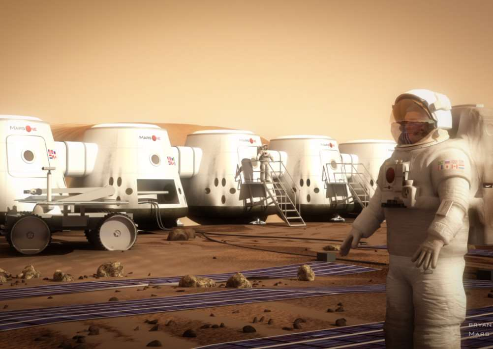 Mars One's vision.