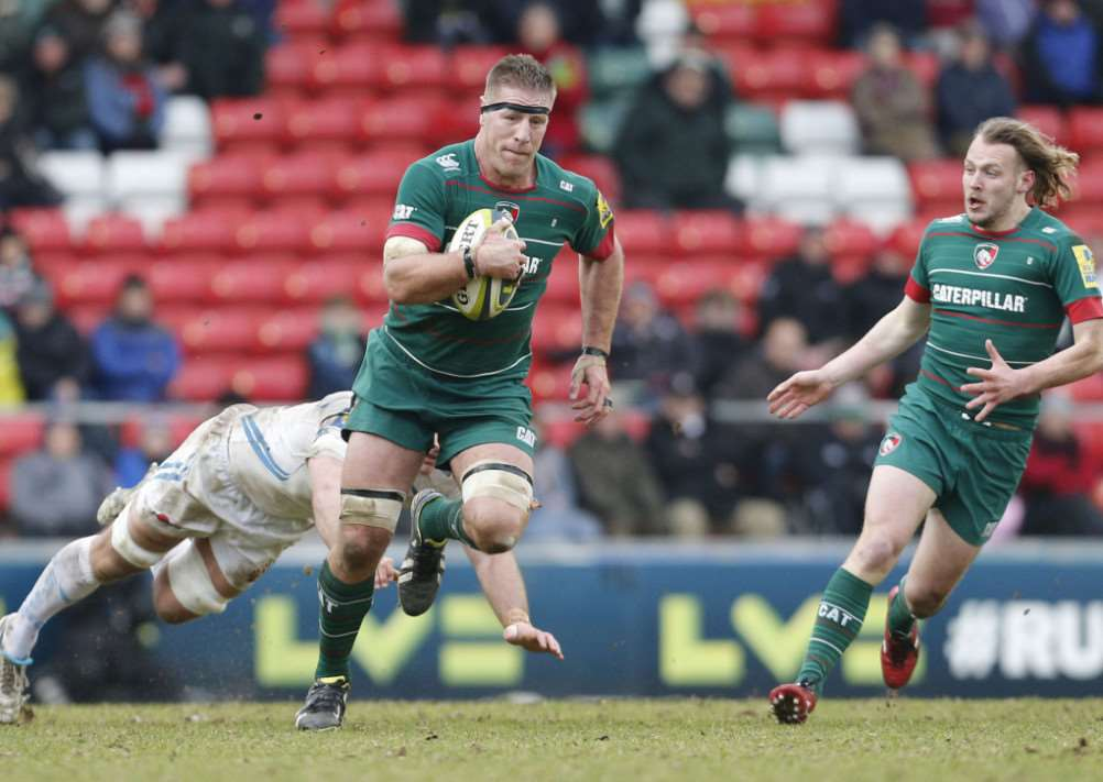 Leicester Tigers v Exeter Chiefs. Tiger Images EMN-150317-140650001
