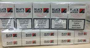 The new 'brand' of fake cigarettes discovered in Lincolnshire.