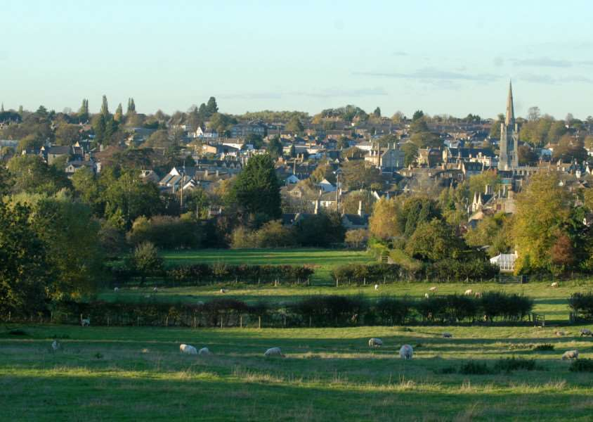 The field off Kettering Road, Stamford, where Kier Living wants to build homes.