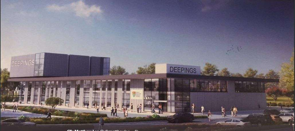 An artist's impression of how the new Deepings Leisure Centre will look (7534545)