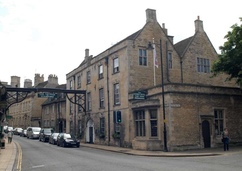 Photo: MSMP160812-009ow'The George Hotel, Stamford. File picture. ENGEMN00120120816161010