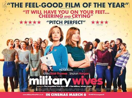There is a 2-for-1 discount for military personnel who see Military Wives at the Showcase (30930663)