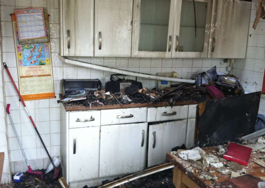 The Fire Safety Advice Centre estimated that nearly two-thirds of all domestic fires happen because of cooking.