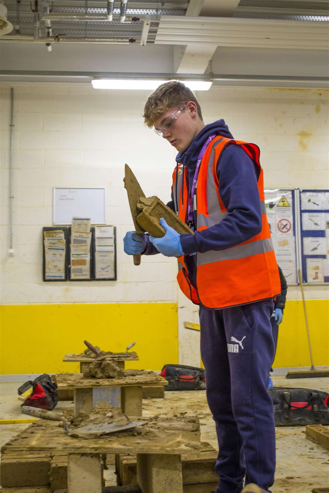 Professional, techincal and traditaional skills were on offer for pupils to try (5193444)