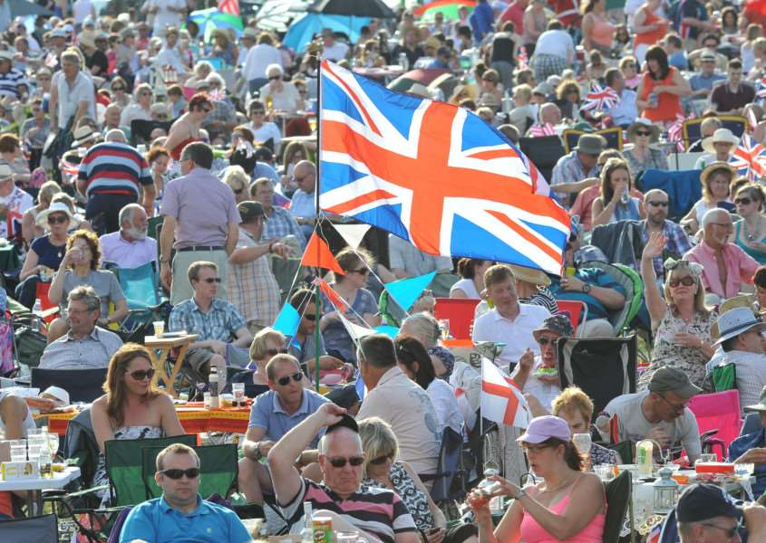 The Battle Proms at Burghley House. EMN-150407-215345009
