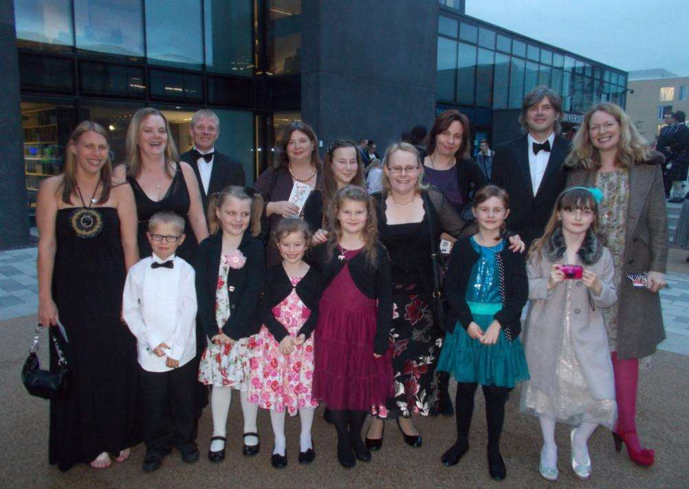 The Bythams Primary School team who were finalists in this year's LAFTAs