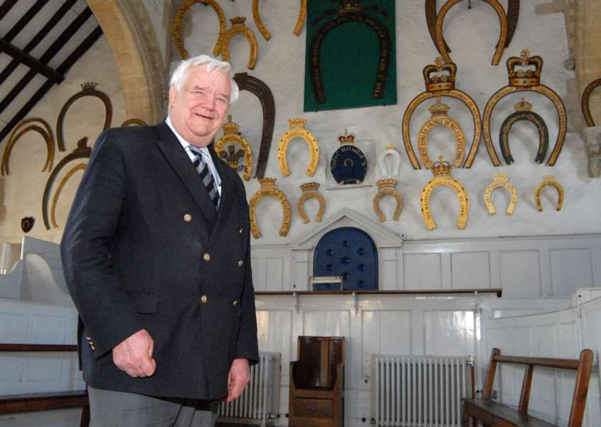 Photo:SM200312-037ow'Leader of Rutland County Council Roger Begy at Oakham Castle. ENGEMN00120120320173329
