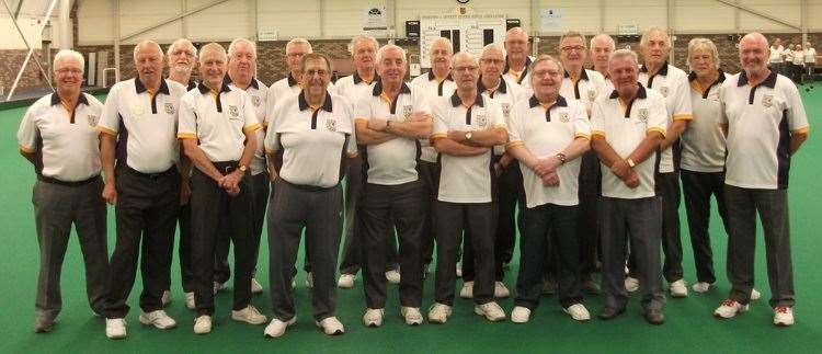 Stamford IBC seniors, many of whom will be competing in a new-look Lincs League from September. (45429000)