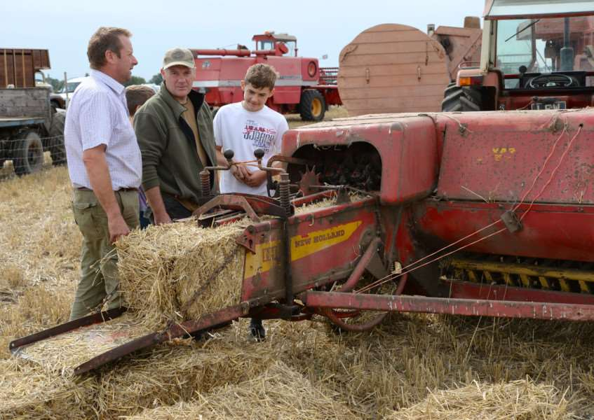 Thurlby Fen vintage tractor day, September 2015. Photo: David Pearson EMN-150915-145439001
