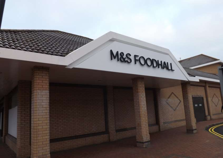 M&S Food Hall taking shape in Bourne