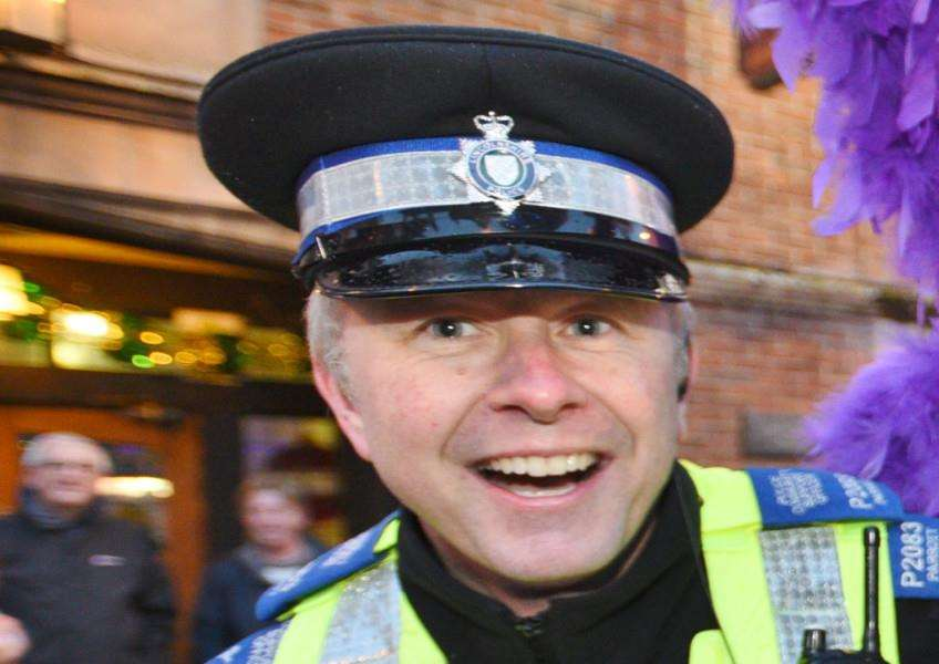 PCSO Graeme Parrott of Bourne Neighbourhood Policing Team. Photo by David Lowndes.