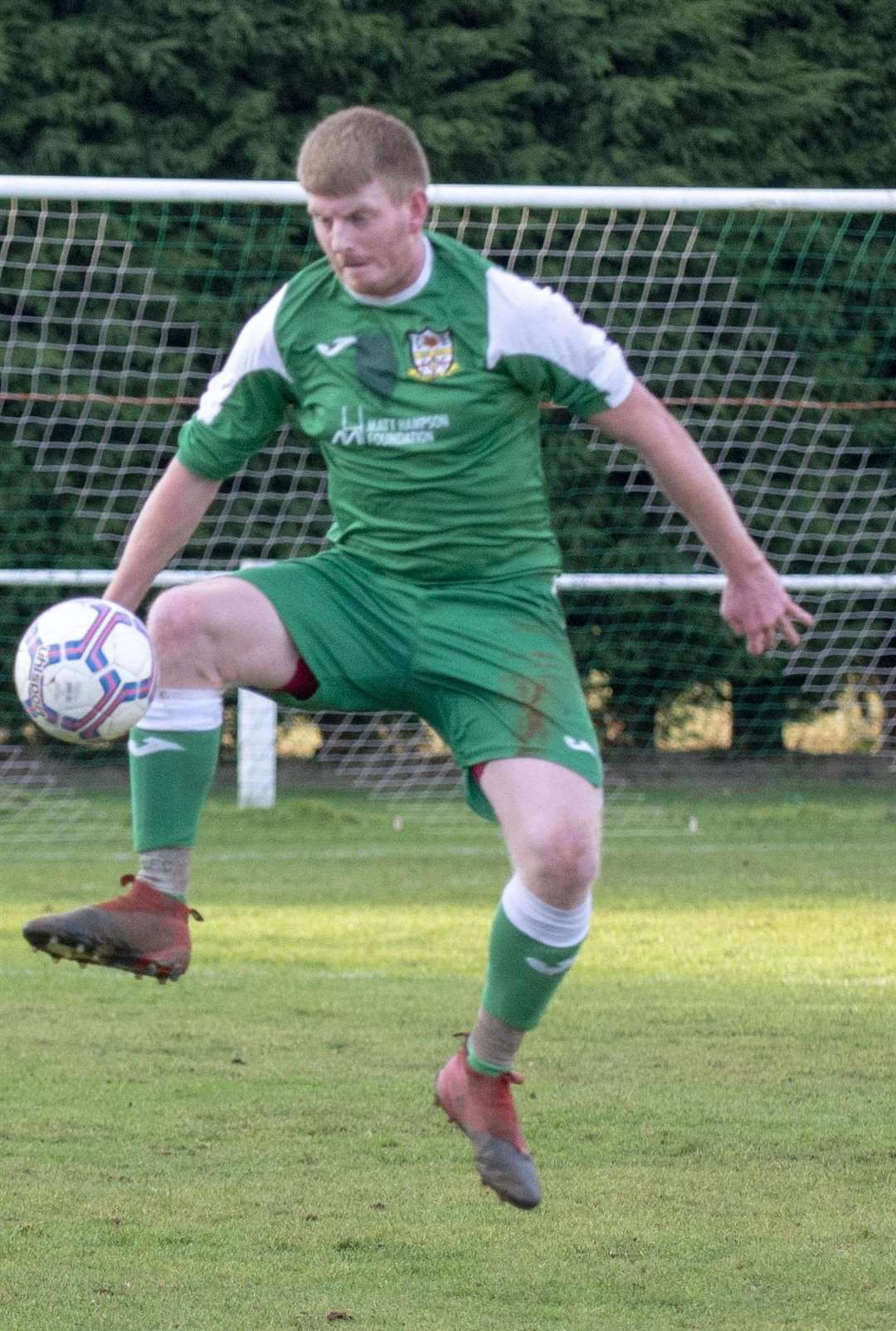Danny Seals showed excellent work-rate in the Cottesmore midfield. (6499595)