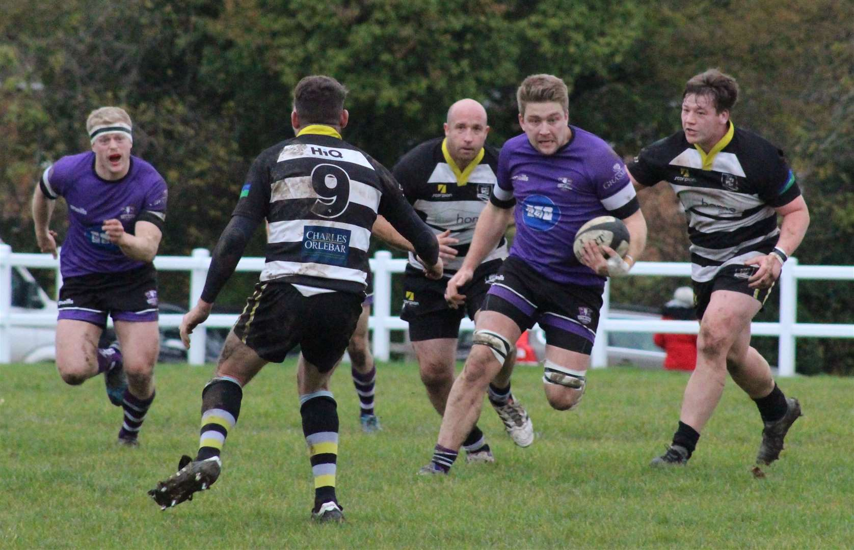 Action from Stamford's victory at Rushden & Higham on Saturday. Photo: Darren Dolby (21889412)