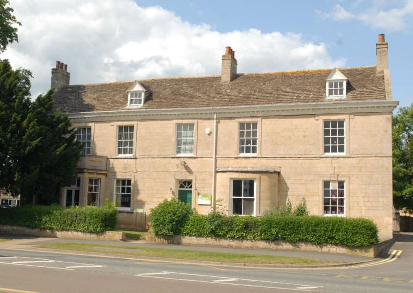 Deepings Community Library, High Street, Market Deeping. Photo by Oliver Wilson.