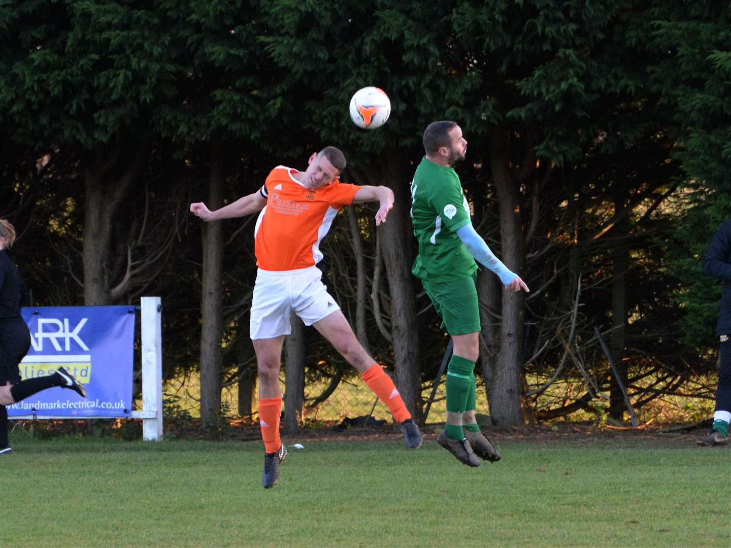 Cottesmore claimed a 1-0 home victory over Barlestone on Saturday. Photo: David Pearson (24416077)