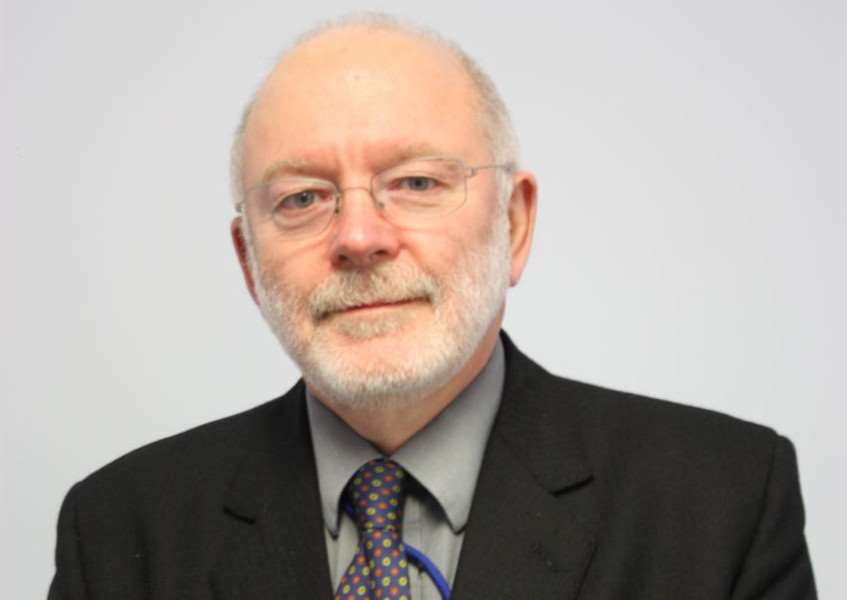 South Lincolnshire senior coroner Professor Robert Forrest who steps down on April 1.