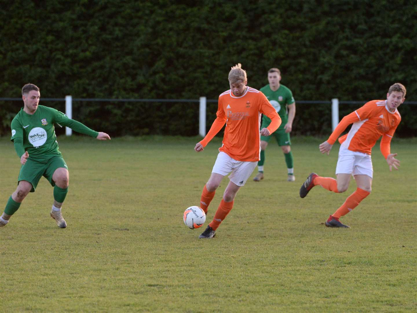 Cottesmore claimed a 1-0 home victory over Barlestone on Saturday. Photo: David Pearson (24416073)