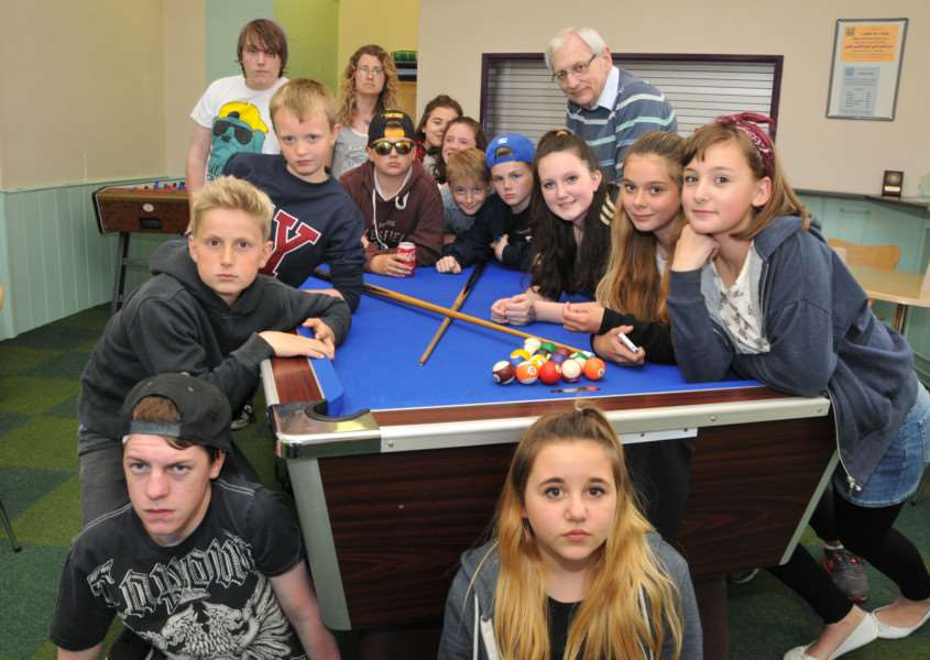 "Youngsters, youth workers and trustees are ""staying put"" at Deepings Youth Centre in Deeping St James despite Lincolnshire County Council wanting them out. Photo by Tim Wilson."