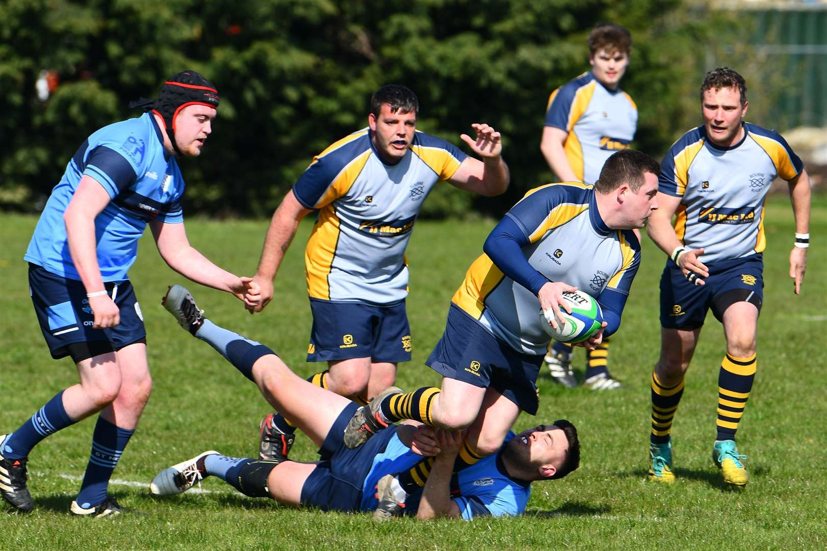 Bourne were 73-7 victors over St Neots on Saturday. Photo: Alan Hancock (8605643)
