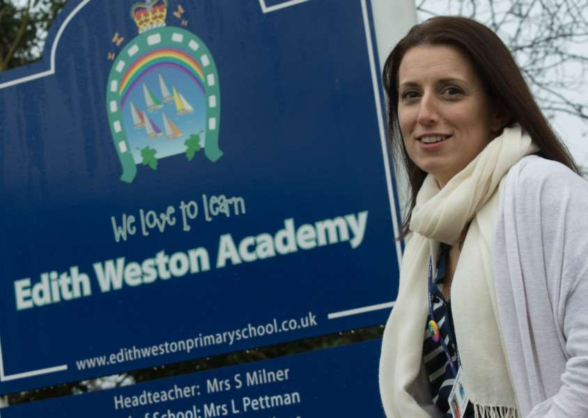 Louise Pettman, the new head of school at Edith Weston Primary Academy'Photo: Alan Walters