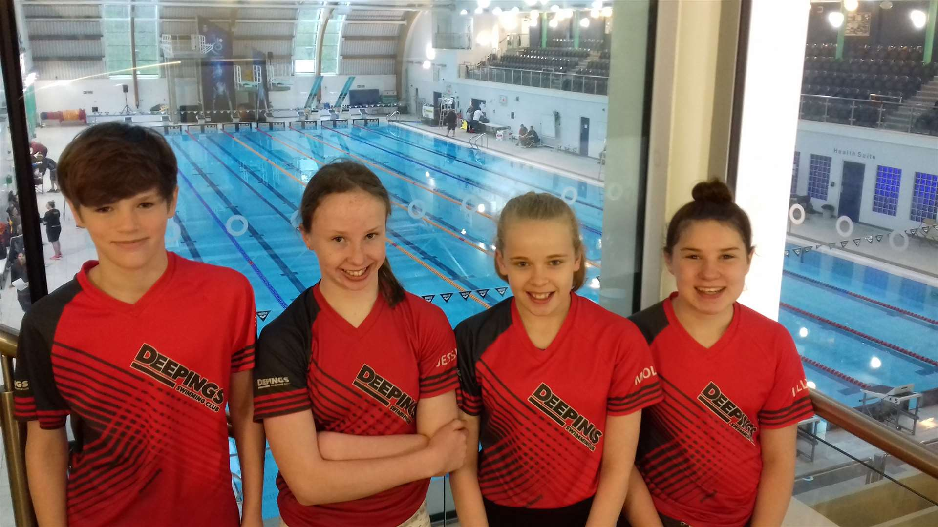 The Deepings quartet which competed at the 2019 East Midlands Regional Championships at Corby last weekend. From the left: Alex Sadler, Jessica O'Herlihy, Molly Briers and Lilly Tappern. (9472144)