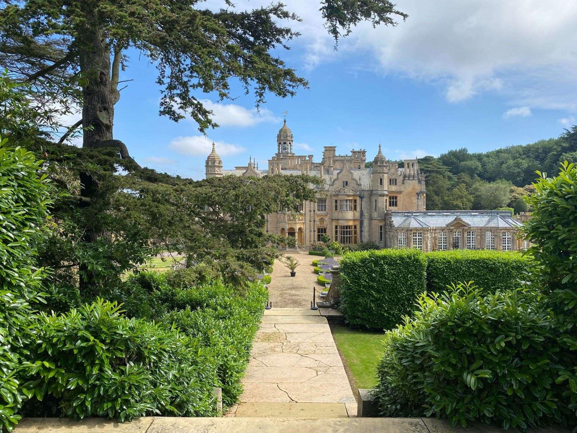 Harlaxton Manor.  (49841575)