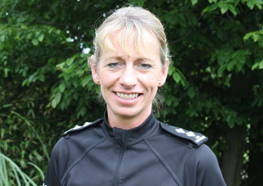 The new Rutland Local Policing Unit Commander Insp Lou Cordiner. EMN-150519-115707001