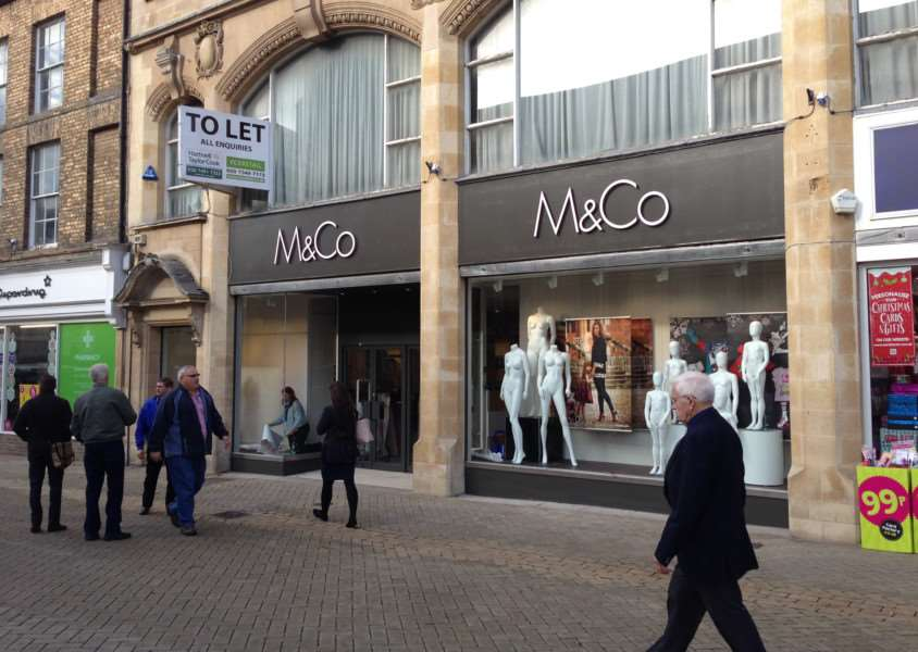 M&Co is almost ready to open in High Street, Stamford. EMN-151020-141659001