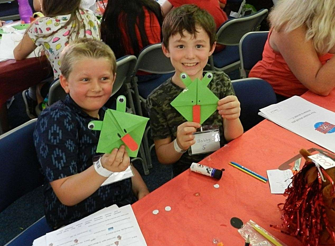 Secret agents at the Bourne Baptist Church holiday club