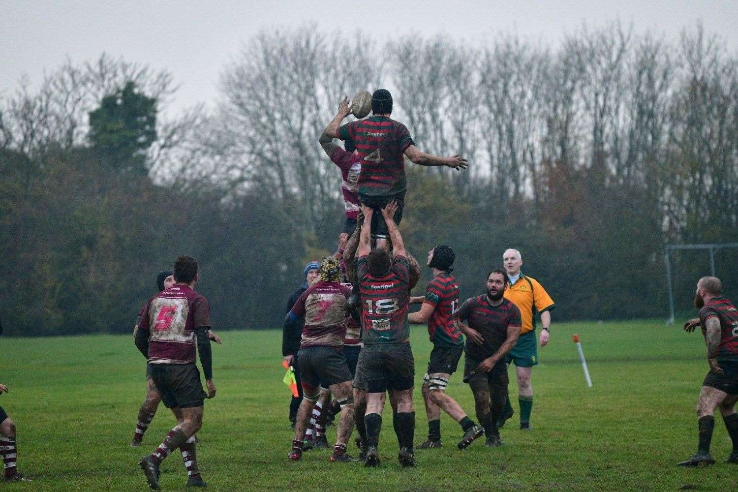 Stamford College were 21-3 winners at Wellingborough. Photo: Adrian Howes (22569192)