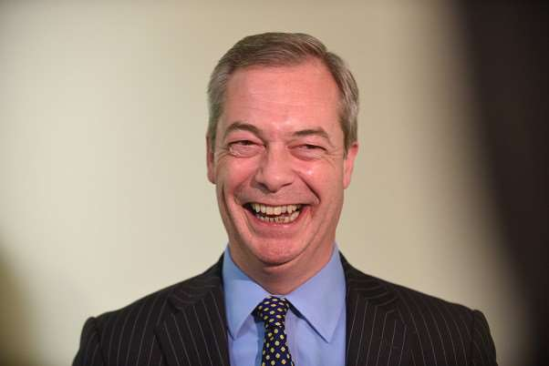 UKIP leader, Nigel Farage.