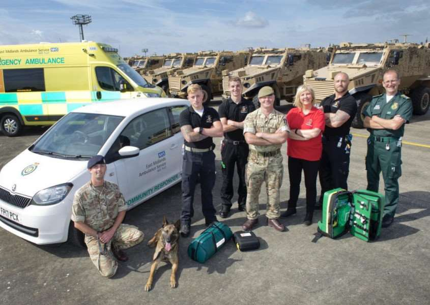 The Army First Responders team which is based at Kendrew Barracks, Cottesmore. Submitted.