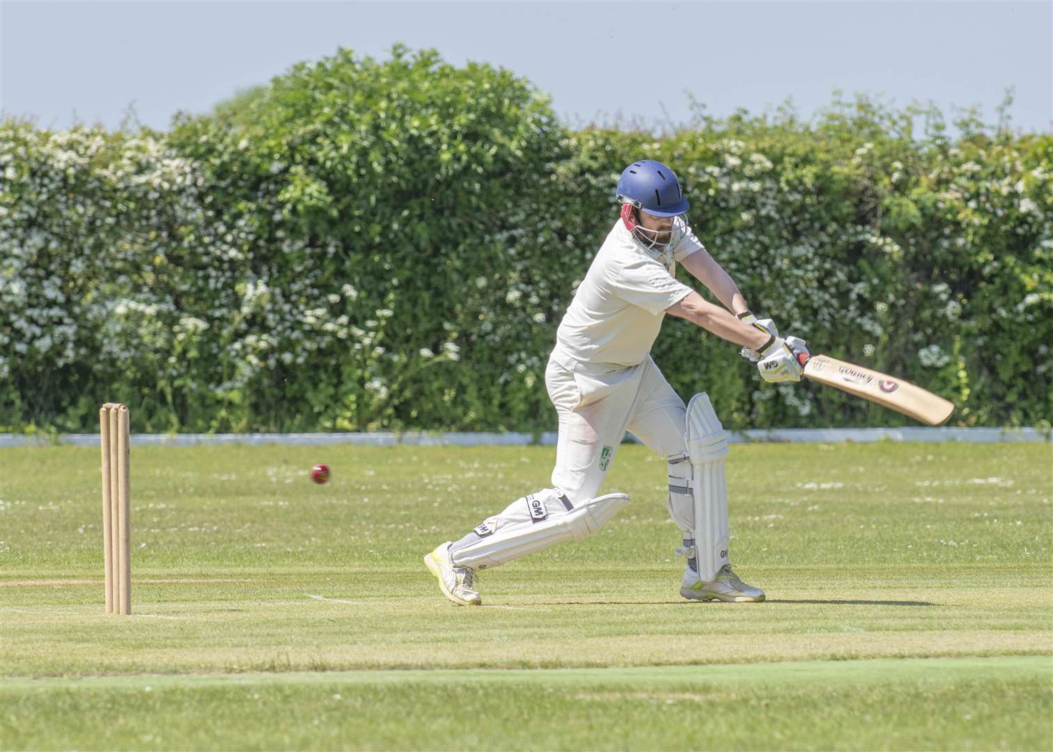 Uffington 2nds v Burghley Park. Photo: Lee Hellwing (2108518)