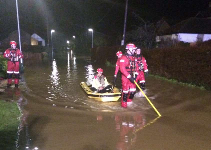Flooding - photo by Cambridgeshire Fire and Rescue Service