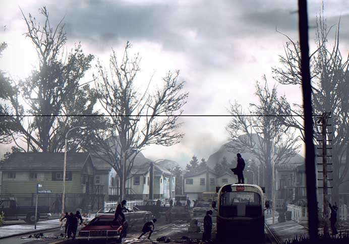 The graphics, lighting and backgrounds are stunning in Deadlight