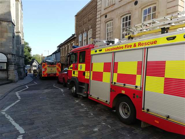 Firefighters Close Stamford Town Centre For Gas Leak As