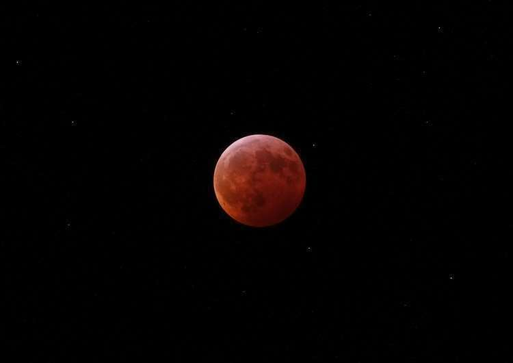 The full lunar eclipse in January