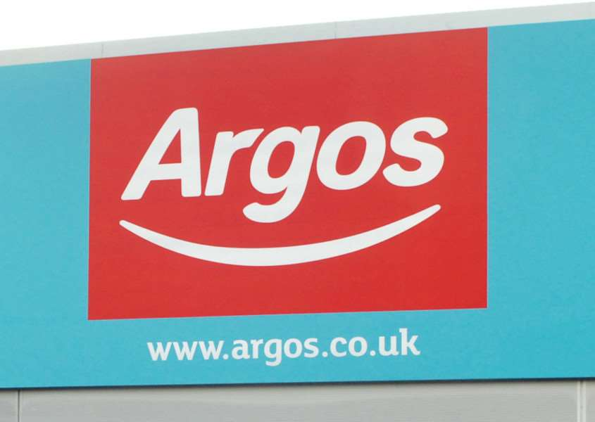 Argos have issued a product warning