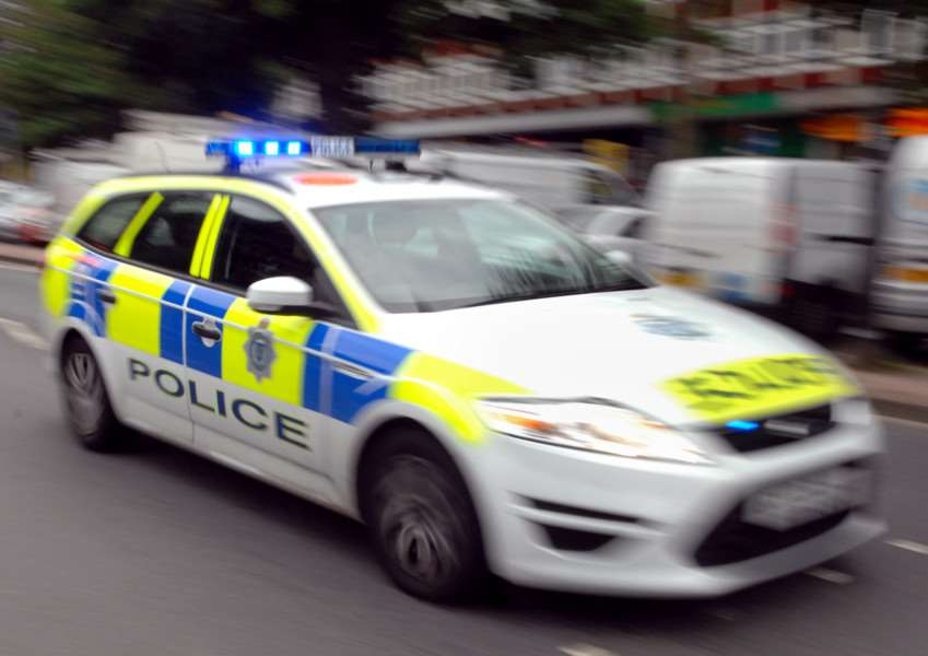 Police Car / Incident Stock Pic (Pic by Jon Rigby) SUS-150219-155609001
