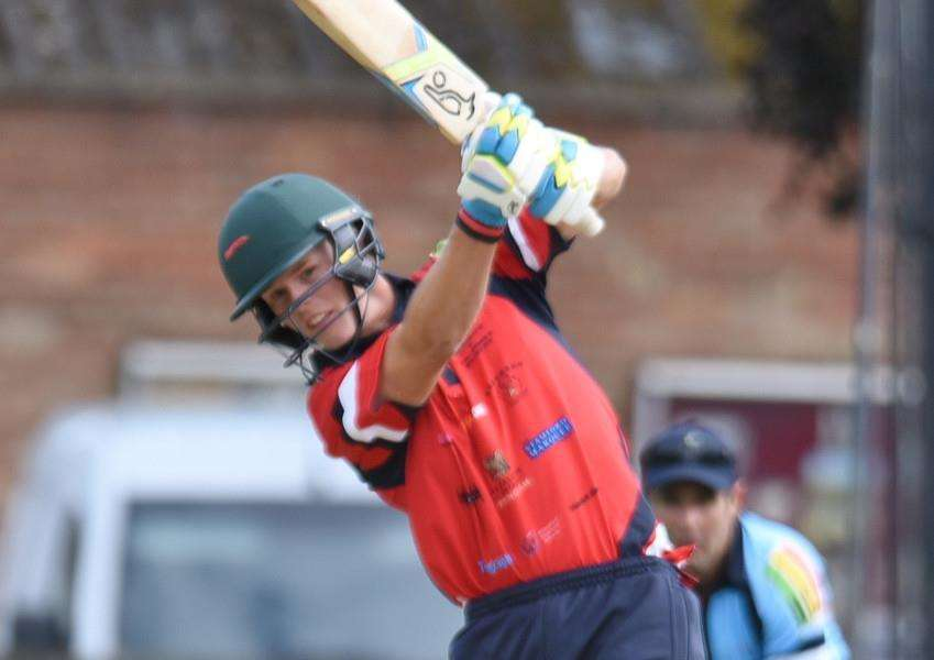 Zak Chappell hit a century for Stamford Town.