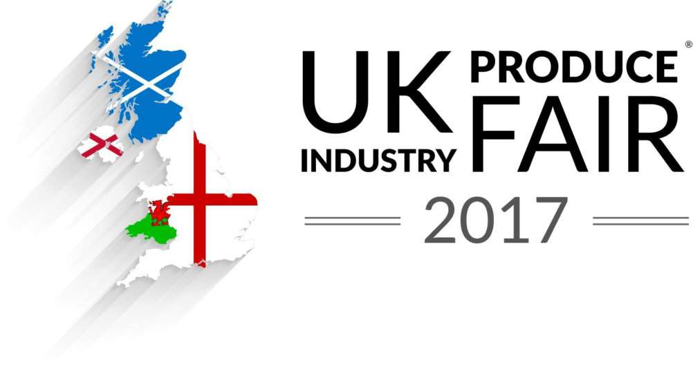 Logo for the UK Produce Industry Fair.