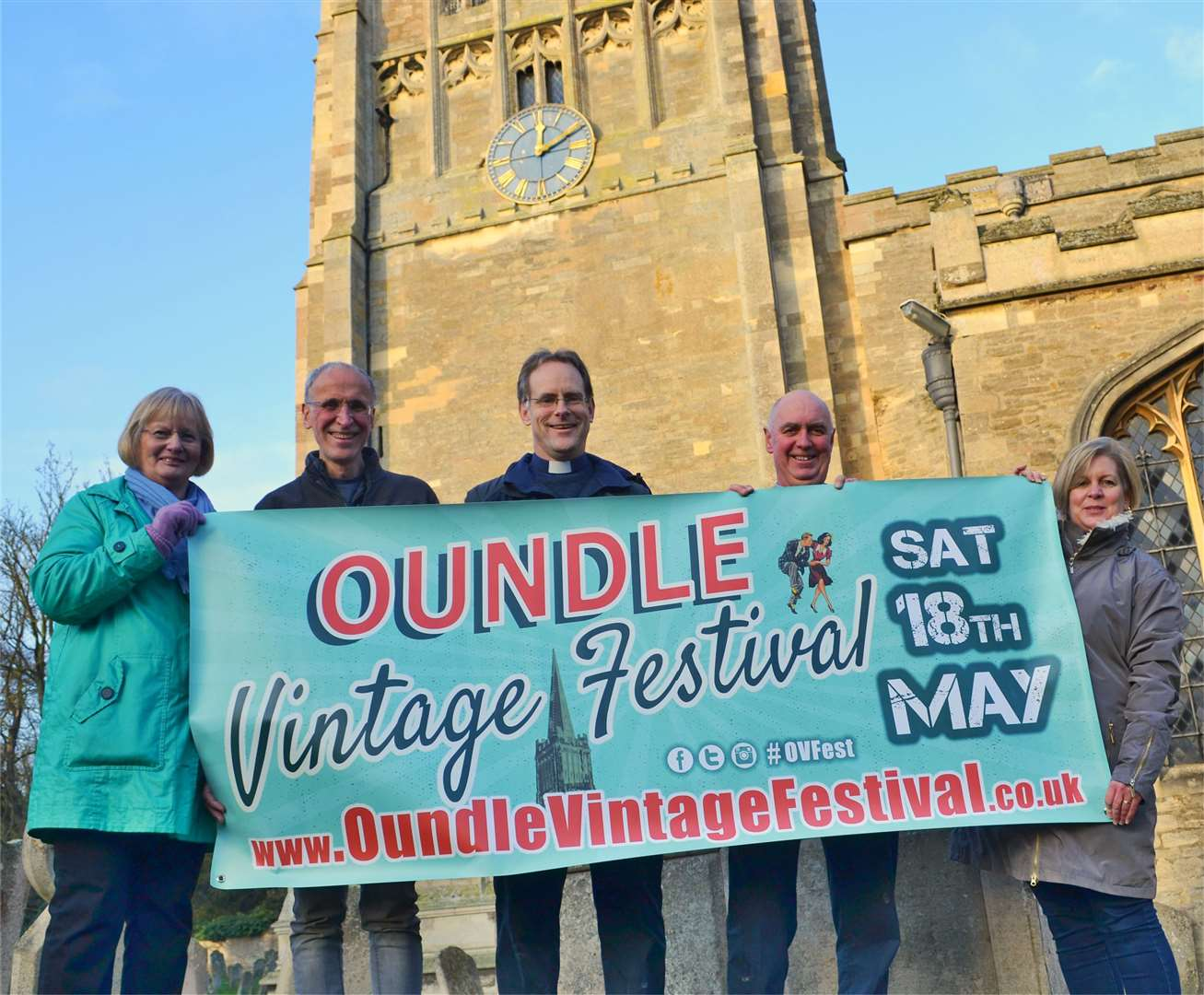 Oundle Vintage Festival in aid of the clock