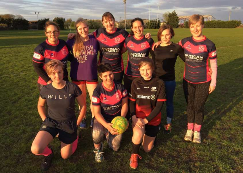 Bourne RugbyFIT ladies are fundraising for the Osborne Trust, The Willow Foundation and a new clubhouse with an end-of-season fundraiser at Bourne Rugby Club on Saturday, May 6, from 1.30pm. Photo by Mark Thomas.