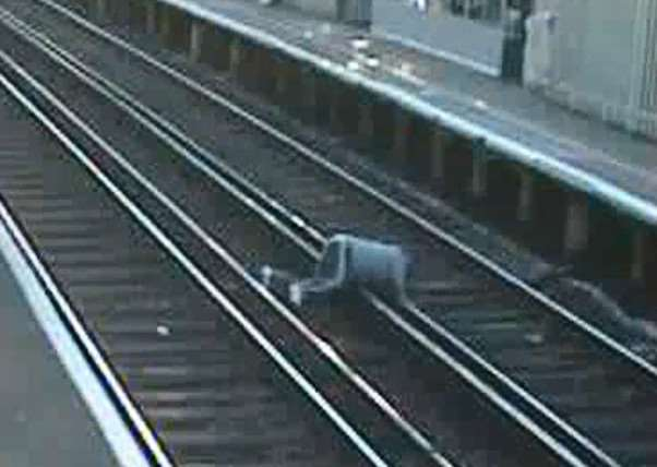 CCTV released as part of Network Rail's No Going Back safety campaign EMN-150515-160400001