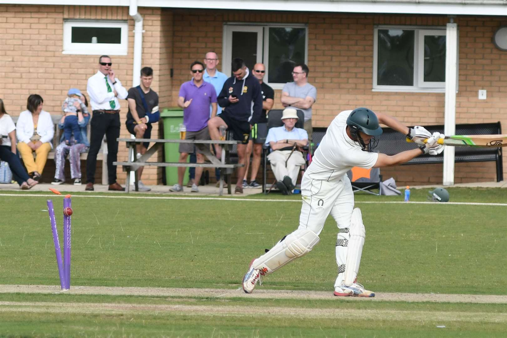 Oakham defeated Uppingham on Saturday to win the Leicestershire League Division One title. Photo: Alan Walters (16693583)